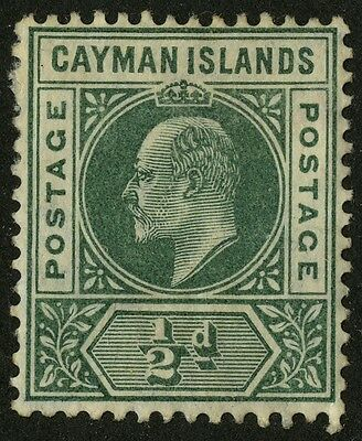 Cayman Islands   1905    Scott # 8   Mint Lightly Hinged