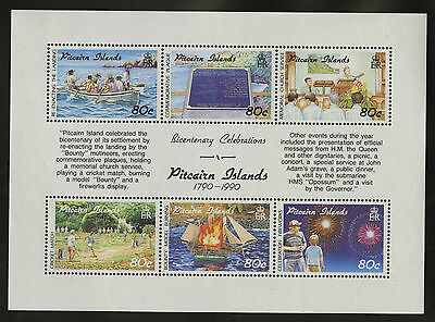 Pitcairn Islands  1991  Scott #347  MNH Souvenir Sheet