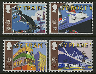 Great Britain   1988   Scott #1213-1216    Mint Never Hinged Set