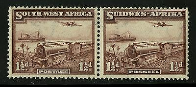 South West Africa   1937  Scott #110   Mint Very Lightly Hinged Pair