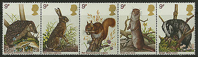 Great Britain   1977   Scott # 820a    Mint Never Hinged Strip