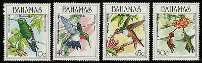 Bahamas   1989   Scott # 668-671   MNH Set