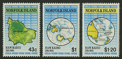 Norfolk Island   1991   Scott # 501-503    Mint Never Hinged Set