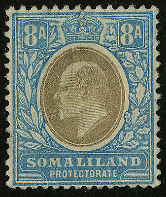 Somaliland Protectorate   1904   Scott # 34   Mint Hinged