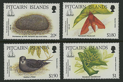 Pitcairn Islands  1992  Scott #371-374  MNH Set