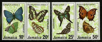 Jamaica 1981  Scott # 520-522  MNH Gutter Block Set