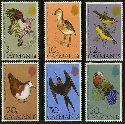 Cayman Islands   1975    Scott # 354-359   Mint Lightly Hinged Set