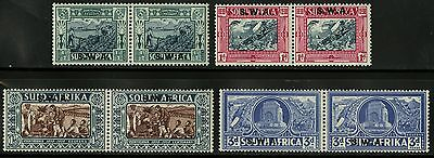 South West Africa   1938  Scott #B5-B8   Mint Very Lightly Hinged Set