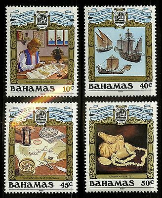 Bahamas   1989   Scott # 663-666   MNH Set