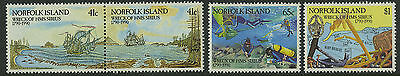 Norfolk Island   1990   Scott # 472A-474    Mint Never Hinged Set