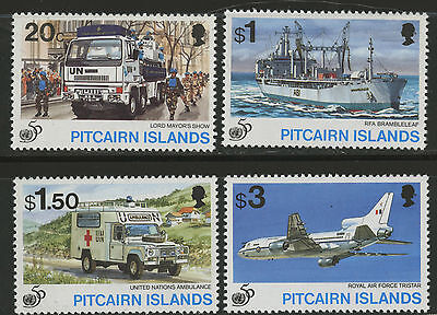 Pitcairn Islands  1995  Scott #436-439  MNH Set