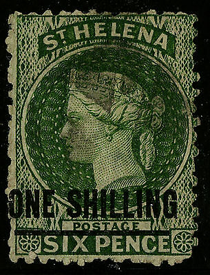 St Helena   1864-73   Scott # 16   USED PERF 12.5x12.5