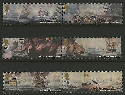 Great Britain   2005   Scott #2322a-2326a    Mint Never Hinged Set