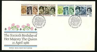 Great Britain 1986  Scott # 1137-1140   FDC