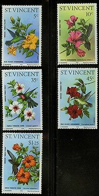 St Vincent   1976  Scott #465-469  MNH Set