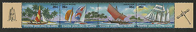 Cocos Islands   1987   Scott # 158   Mint Never Hinged Strip Set