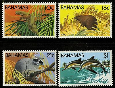 Bahamas   1982   Scott # 514-517   MNH Set