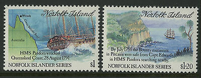 Norfolk Island   1991   Scott # 508-509    Mint Never Hinged Set