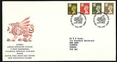 Wales 1993  Machins Combo FDC