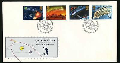 Great Britain 1986  Scott # 1133-1136   FDC