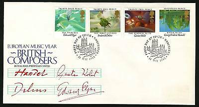 Great Britain 1985  Scott # 1103-1106   FDC