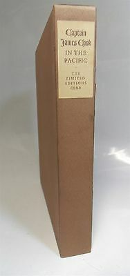 Explorations Captain James Cook Limited Editions Club    Ingleton Signed