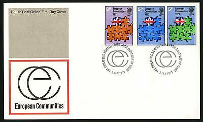 Great Britain 1973  Scott #685-687  Combo FDC set