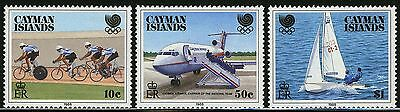 Cayman Islands   1988   Scott # 598-600   Mint Never Hinged Set