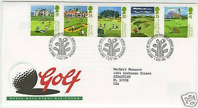 Great Britain  1994  Scott # 1567-1571  First Day Cover