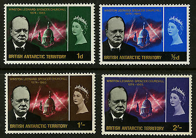 British Antarctic Territory   1966   Scott # 17-19   Mint Lightly Hinged Set