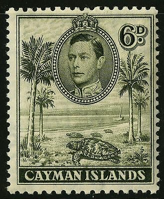 Cayman Islands   1943   Scott # 107a  Mint Lightly Hinged