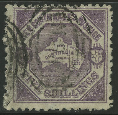 New South Wales   1890   Scott # 87  USED