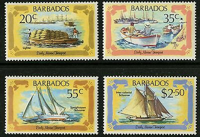 Barbados   1982   Scott #577-580   MLH Set