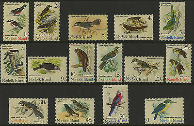 Norfolk Island   1970-71   Scott # 126-140    Mint Never Hinged Set