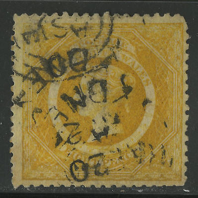 New South Wales   1860-63   Scott # 41  USED