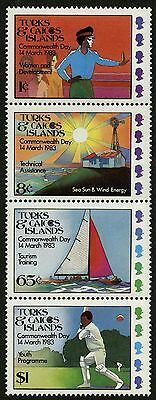 Turks & Caicos Islands   1983   Scott #558a   MNH Set