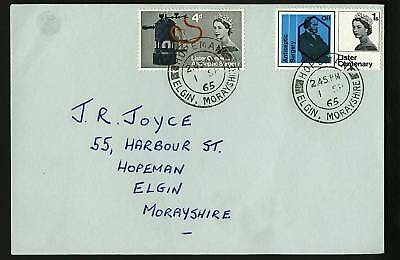 Great Britain 1965  Scott #426-427  Combo FDC Set