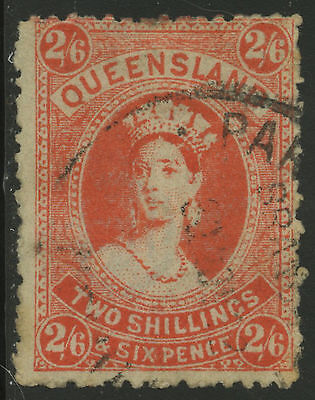 Queensland   1907-09   Scott # 141   USED