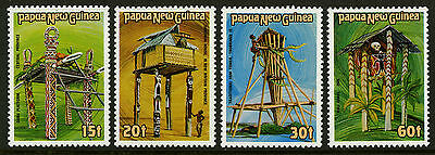 Papua New Guinea   1985   Scott # 616-619    Mint Never Hinged Set