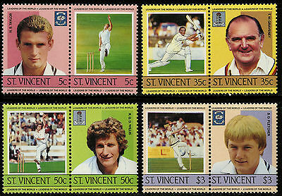 St Vincent   1985   Scott #795-798   Mint Never Hinged Set