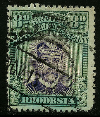 Rhodesia  1913-23   Scott #128a    USED