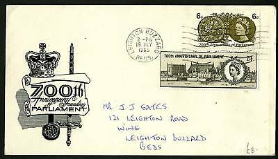 Great Britain 1965  Scott #422-423  Combo FDC Set