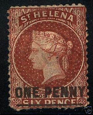St Helena  1864-73  Scott # 11  USED