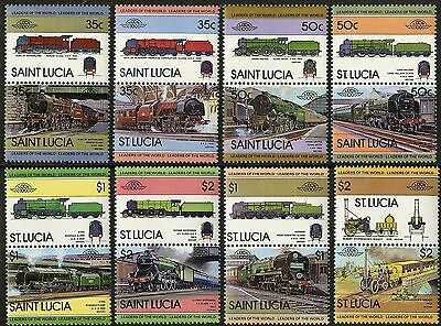 St Lucia   1983   Scott # 617-624   MNH Set