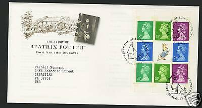 Great Britain  1993  Scott # BK 158  First Day Cover