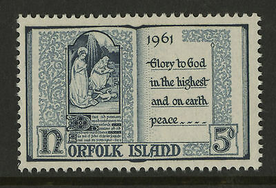Norfolk Island   1961   Scott #  44    Mint Never Hinged