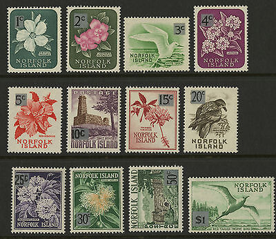 Norfolk Islands   1966   Scott #  71-82    Mint Never Hinged Set