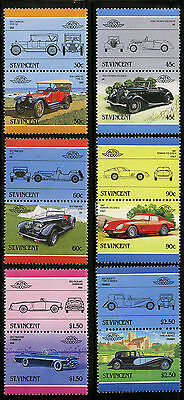 St Vincent   1986   Scott #906-911   Mint Never Hinged Set