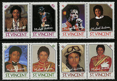 St Vincent   1985   Scott #894-897   Mint Never Hinged Set