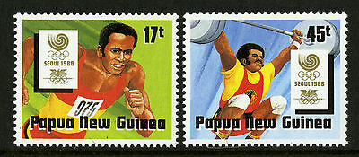 Papua New Guinea   1988   Scott # 701-702    Mint Never Hinged Set
